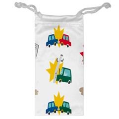 Accident Crash Car Cat Animals Jewelry Bag