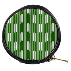 Arrows Green Mini Makeup Bags