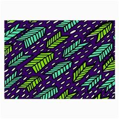 Arrows Purple Green Blue Large Glasses Cloth (2 Side)