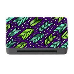 Arrows Purple Green Blue Memory Card Reader with CF