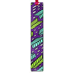 Arrows Purple Green Blue Large Book Marks