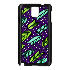 Arrows Purple Green Blue Samsung Galaxy Note 3 N9005 Case (Black)