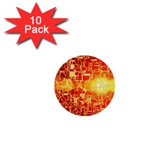 Board Conductors Circuit 1  Mini Buttons (10 Pack)