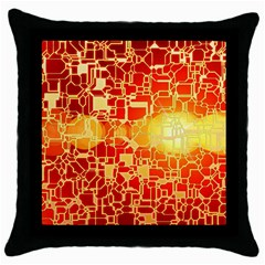 Board Conductors Circuit Throw Pillow Case (black)