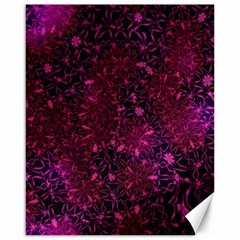 Retro Flower Pattern Design Batik Canvas 16  X 20