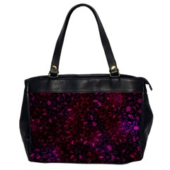 Retro Flower Pattern Design Batik Office Handbags