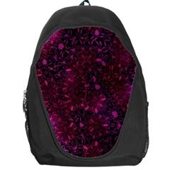 Retro Flower Pattern Design Batik Backpack Bag
