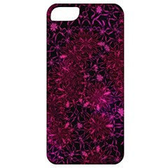 Retro Flower Pattern Design Batik Apple Iphone 5 Classic Hardshell Case
