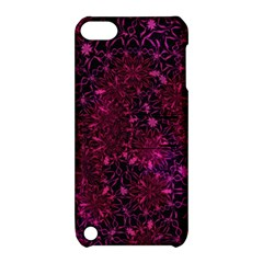 Retro Flower Pattern Design Batik Apple Ipod Touch 5 Hardshell Case With Stand