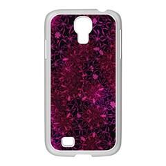 Retro Flower Pattern Design Batik Samsung Galaxy S4 I9500/ I9505 Case (white)