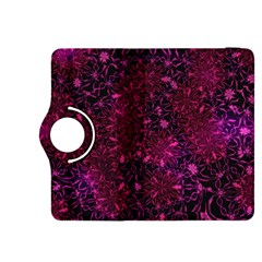 Retro Flower Pattern Design Batik Kindle Fire Hdx 8 9  Flip 360 Case