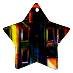 Architecture City Homes Window Ornament (star)