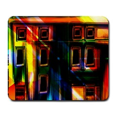 Architecture City Homes Window Large Mousepads