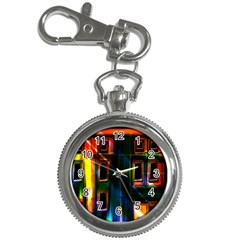 Architecture City Homes Window Key Chain Watches