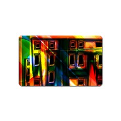 Architecture City Homes Window Magnet (name Card)
