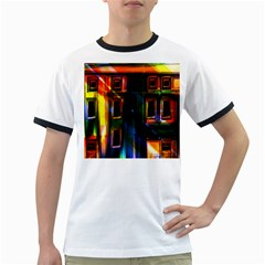 Architecture City Homes Window Ringer T Shirts