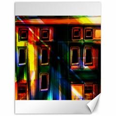 Architecture City Homes Window Canvas 12  x 16