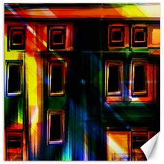 Architecture City Homes Window Canvas 16  X 16