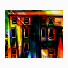Architecture City Homes Window Small Glasses Cloth (2 Side)