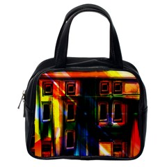 Architecture City Homes Window Classic Handbags (one Side)