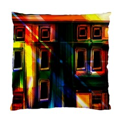 Architecture City Homes Window Standard Cushion Case (two Sides)
