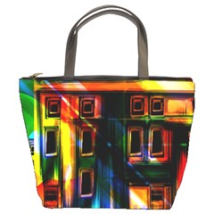 Architecture City Homes Window Bucket Bags