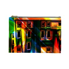 Architecture City Homes Window Cosmetic Bag (large)