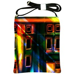 Architecture City Homes Window Shoulder Sling Bags