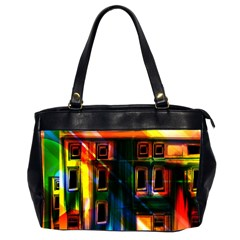 Architecture City Homes Window Office Handbags (2 Sides)