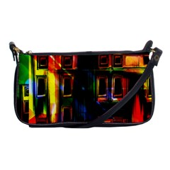 Architecture City Homes Window Shoulder Clutch Bags