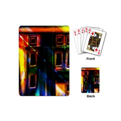 Architecture City Homes Window Playing Cards (mini)