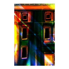 Architecture City Homes Window Shower Curtain 48  X 72  (small)