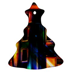 Architecture City Homes Window Ornament (christmas Tree)