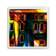 Architecture City Homes Window Memory Card Reader (Square)