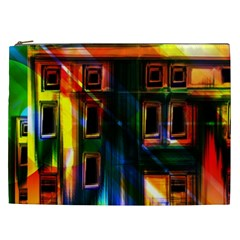 Architecture City Homes Window Cosmetic Bag (xxl)