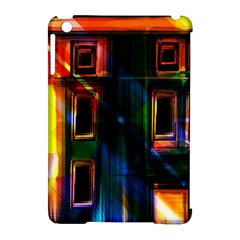 Architecture City Homes Window Apple Ipad Mini Hardshell Case (compatible With Smart Cover)