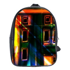 Architecture City Homes Window School Bags (xl)