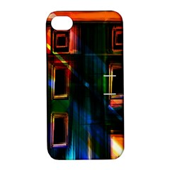 Architecture City Homes Window Apple Iphone 4/4s Hardshell Case With Stand