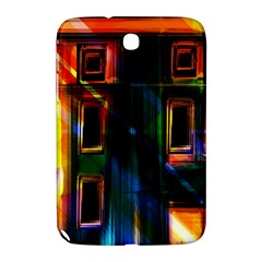 Architecture City Homes Window Samsung Galaxy Note 8 0 N5100 Hardshell Case