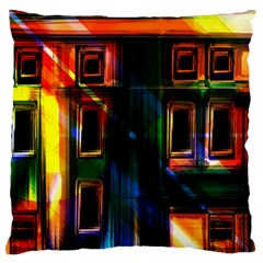 Architecture City Homes Window Standard Flano Cushion Case (one Side)