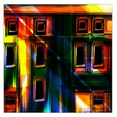 Architecture City Homes Window Large Satin Scarf (square)