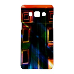 Architecture City Homes Window Samsung Galaxy A5 Hardshell Case