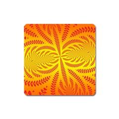 Background Brush Particles Wave Square Magnet