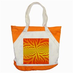 Background Brush Particles Wave Accent Tote Bag