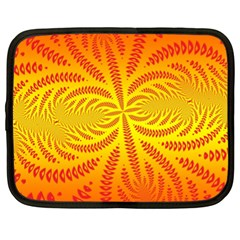 Background Brush Particles Wave Netbook Case (xl)