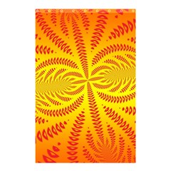 Background Brush Particles Wave Shower Curtain 48  X 72  (small)