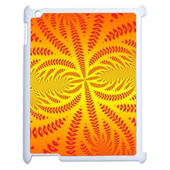 Background Brush Particles Wave Apple Ipad 2 Case (white)