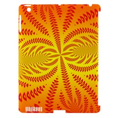 Background Brush Particles Wave Apple Ipad 3/4 Hardshell Case (compatible With Smart Cover)