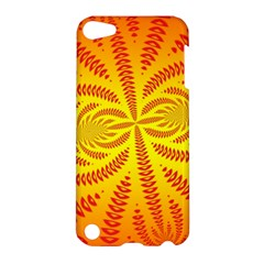 Background Brush Particles Wave Apple Ipod Touch 5 Hardshell Case