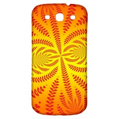 Background Brush Particles Wave Samsung Galaxy S3 S Iii Classic Hardshell Back Case